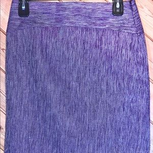 THE LIMITED COLLECTION Skirt, Heather Purple, Sz 0